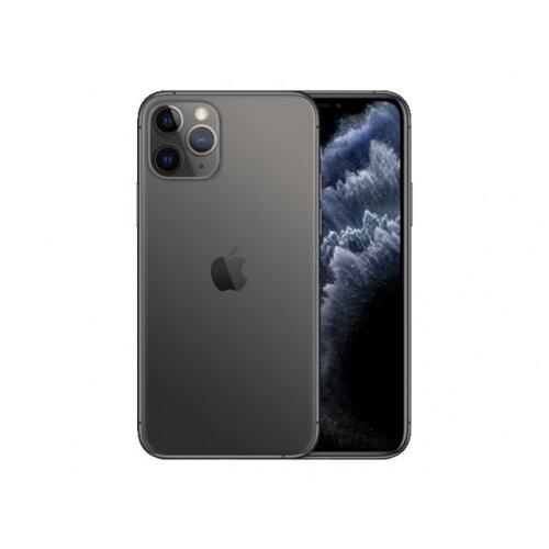 Apple iPhone 11 Pro - Smartphone - dual-SIM - 4G Gigabit Class LTE - 256 GB - GSM - 5.8&uot; - 2436 x 1125 pixels (458 ppi) - Super Retina XDR Display (12 MP front camera) - 3x rear cameras - space grey