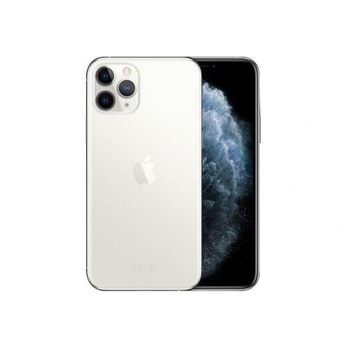 Apple iPhone 11 Pro - Smartphone - dual-SIM - 4G Gigabit Class LTE - 64 GB - GSM - 5.8&uot; - 2436 x 1125 pixels (458 ppi) - Super Retina XDR Display (12 MP front camera) - 3x rear cameras - silver