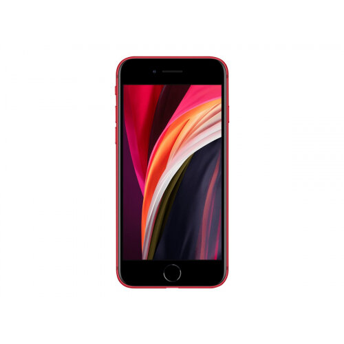 Apple iPhone SE (2nd generation) - (PRODUCT) RED - smartphone - dual-SIM - 4G Gigabit Class LTE - 128 GB - GSM - 4.7&uot; - 1334 x 750 pixels (326 ppi) - Retina HD - 12 MP (7 MP front camera) - red