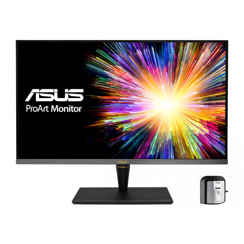 ASUS ProArt PA32UCX-K - LED monitor - 32&uot; - 3840 x 2160 4K UHD (2160p) @ 65 Hz - IPS - 1200 cd/m&up2; - 1000:1 - 5 ms - 3xHDMI, DisplayPort, Thunderbolt 3 - speakers - grey