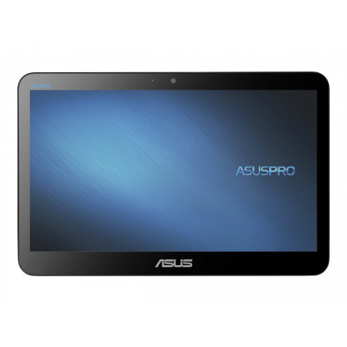 ASUSPRO A4110 - All-in-one - Celeron N4020 / 1.1 GHz - RAM 8 GB - SSD 128 GB - UHD Graphics 600 - GigE - WLAN: 802.11a/b/g/n/ac, Bluetooth 5.0 - Endless OS - monitor: LED 15.6&uot; 1366 x 768 (HD) touchscreen