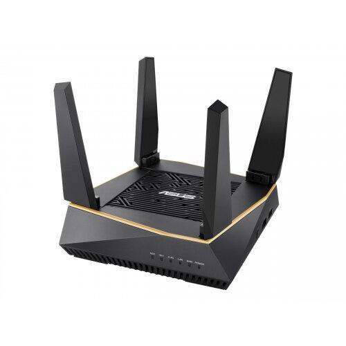 ASUS RT-AX92U - Wireless router - 4-port switch - GigE, 802.11ax - 802.11a/b/g/n/ac/ax - Tri-Band