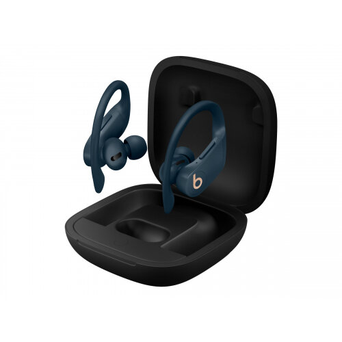 Beats Powerbeats Pro - True wireless earphones with mic - in-ear - over-the-ear mount - Bluetooth - noise isolating - navy - for iPad/iPhone/iPod
