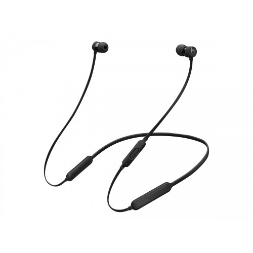 Beats X - Earphones with mic - in-ear - Bluetooth - wireless - noise isolating - black