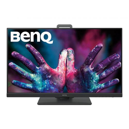 BenQ DesignVue PD2705Q - PD Series - LED monitor - 27&uot; - 2560 x 1440 WQHD - IPS - 300 cd/m&up2; - 1000:1 - 5 ms - HDMI, DisplayPort, USB-C - speakers - dark grey