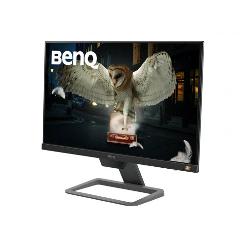 BenQ EW2480 - LED monitor - 23.8&uot; - 1920 x 1080 Full HD (1080p) @ 60 Hz - IPS - 250 cd/m&up2; - 1000:1 - 5 ms - HDMI - speakers - black, metallic grey