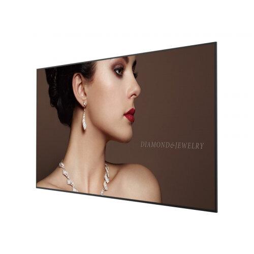BenQ ST7502 - 75&uot; Class Smart Signage Series LED display - digital signage - 4K UHD (2160p) 3840 x 2160 - direct-lit LED - black