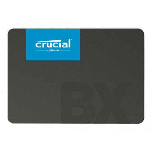 Crucial BX500 - Solid state drive - 2 TB - internal - 2.5&uot; - SATA 6Gb/s