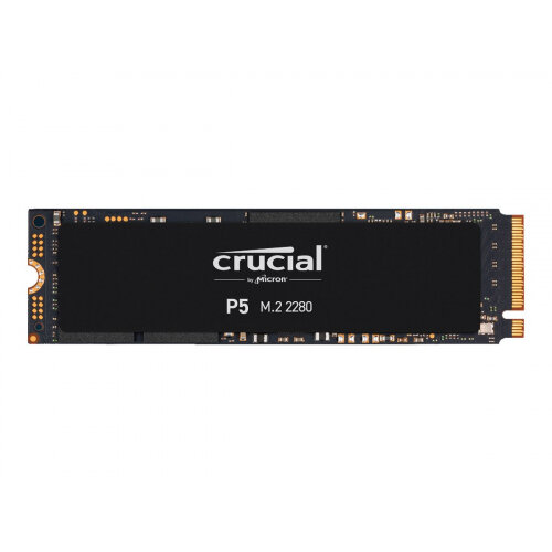 Crucial P5 - Solid state drive - encrypted - 2 TB - internal - M.2 2280 - PCI Express 3.0 (NVMe)