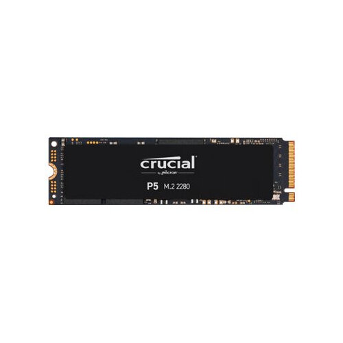 Crucial P5 - Solid state drive - encrypted - 250 GB - internal - M.2 2280 - PCI Express 3.0 (NVMe) - 256-bit AES