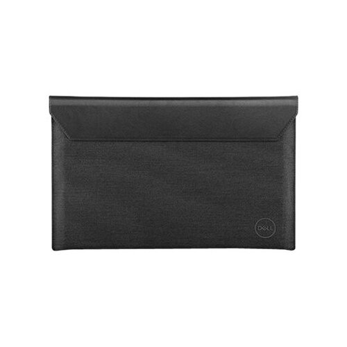 Dell Premier Sleeve 17 - Notebook sleeve - 17&uot; - black leather magnetic snap with heather grey outer - for Precision Mobile Workstation 5750; XPS 17 9700