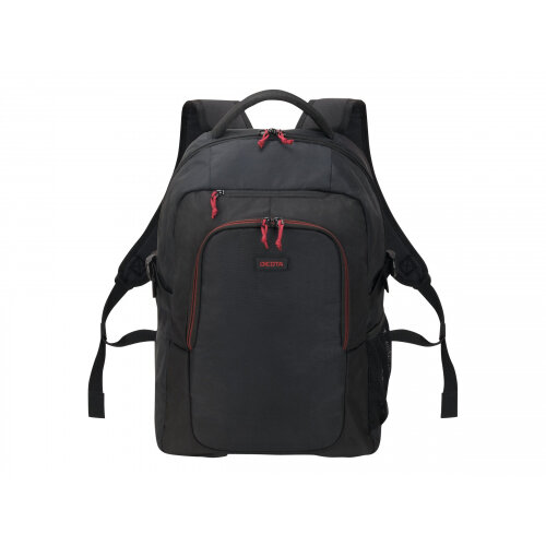 DICOTA - Notebook carrying backpack - 15.6&uot; - black - with wireless optical mouse