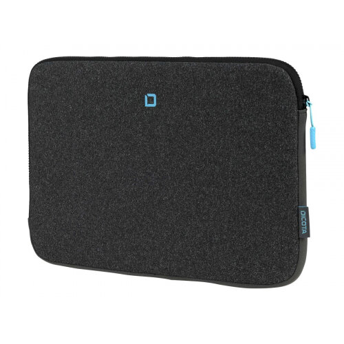DICOTA Skin FLOW - Notebook sleeve - 13&uot; - 14.1&uot; - blue, anthracite