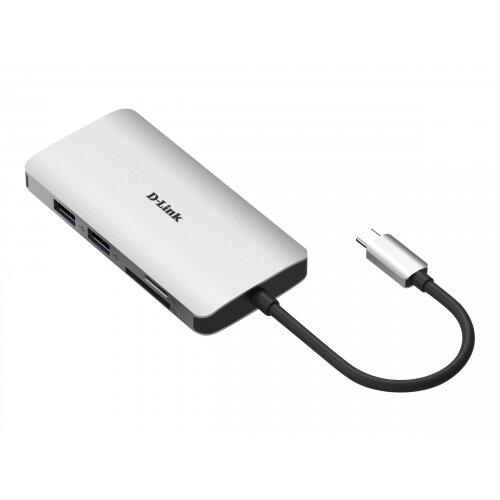 D-Link DUB-M810 - Docking station - USB-C / Thunderbolt 3 - HDMI - GigE