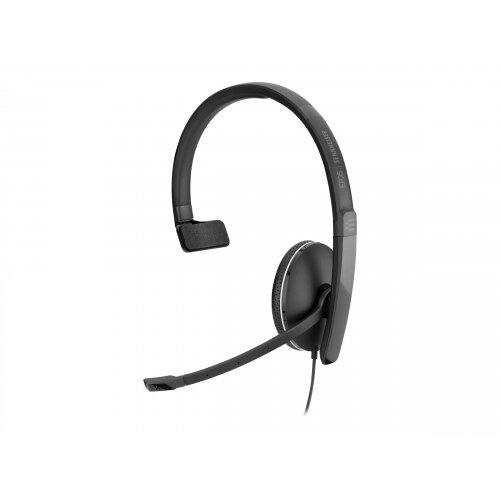 EPOS I SENNHEISER ADAPT SC 135 USB - Headset - on-ear - wired - active noise cancelling - USB, 3.5 mm jack - black, white