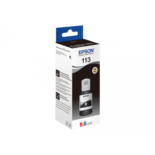 Epson 113 - 127 ml - black - original - ink refill - for EcoTank ET-16150, 16600, 16650, 5800, 5850, 5880, M16600; EcoTank Pro ET-16600, 5800, 5850