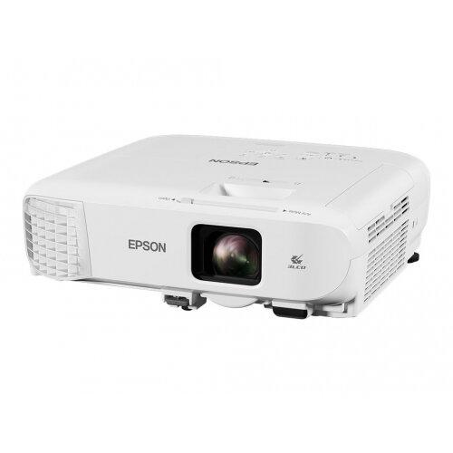 Epson EB-X49 - 3LCD projector - portable - 3600 lumens (white) - 3600 lumens (colour) - XGA (1024 x 768) - 4:3 - LAN - white