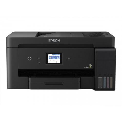 Epson EcoTank ET-15000 - Multifunction printer - colour - ink-jet - A3/Ledger (297 x 432 mm) (original) - A3/Ledger (media) - up to 11.5 ppm (copying) - up to 38 ppm (printing) - 270 sheets - 33.6 Kbps - USB 2.0, LAN, Wi-Fi