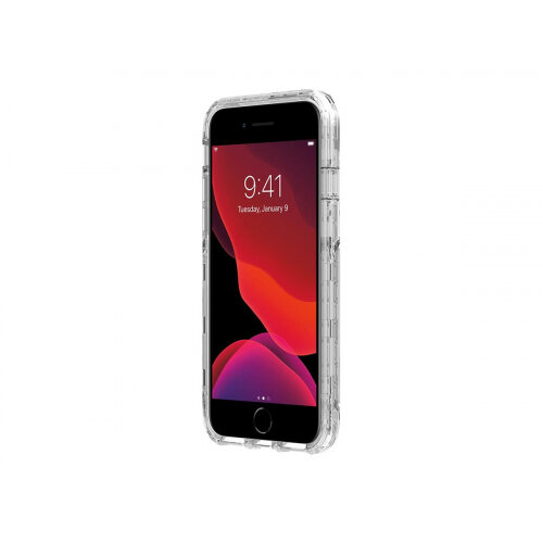 Griffin Survivor Strong - Back cover for mobile phone - clear - for Apple iPhone 6, 6s, 7, 8, SE (2nd generation)
