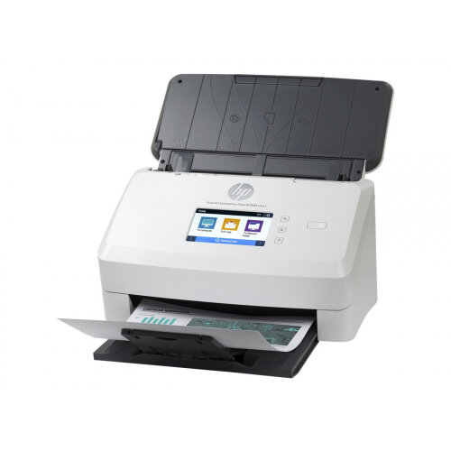 HP ScanJet Enterprise Flow N7000 snw1 - Document scanner - CMOS / CIS - Duplex - 216 x 3100 mm - 600 dpi x 600 dpi - up to 75 ppm (mono) / up to 75 ppm (colour) - ADF (80 sheets) - up to 7500 scans per day - USB 3.0, LAN, Wi-Fi(n)