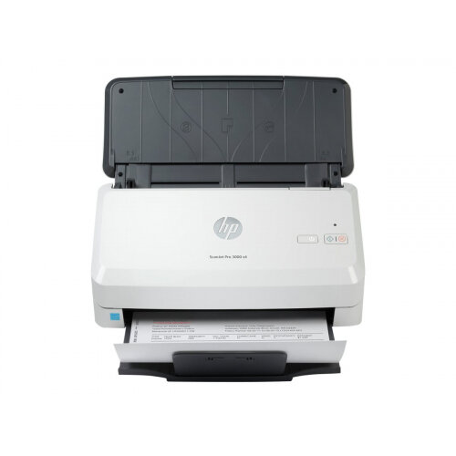 HP Scanjet Pro 3000 s4 Sheet-feed - Document scanner - CMOS / CIS - Duplex - 216 x 3100 mm - 600 dpi x 600 dpi - up to 40 ppm (mono) - ADF (50 sheets) - up to 4000 scans per day - USB 3.0
