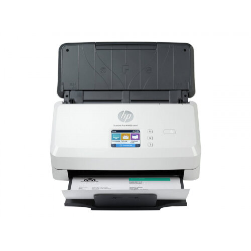 HP Scanjet Pro N4000 snw1 Sheet-feed - Document scanner - CMOS / CIS - Duplex - 216 x 3100 mm - 600 dpi x 600 dpi - up to 40 ppm (mono) - ADF (50 sheets) - up to 4000 scans per day - USB 3.0, LAN, Wi-Fi(n)