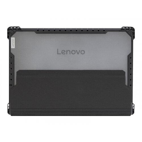 Lenovo - Notebook carrying case - black, transparent - for 300e (2nd Gen) 82GK; 300e Chromebook (2nd Gen) MTK 81QC