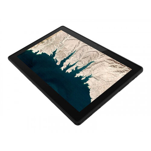 Lenovo 10e Chromebook Tablet 82AM - Tablet - with detachable keyboard - MT8183 2 GHz - Chrome OS - 4 GB RAM - 32 GB eMMC - 10.1&uot; IPS touchscreen 1920 x 1200 - Mali-G72 MP3 - Wi-Fi, Bluetooth - iron grey