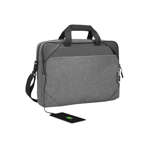 Lenovo Business Casual Topload - Notebook carrying case - 15.6&uot; - charcoal grey - for IdeaPad Duet 3 10; ThinkBook 15 G2 ITL; ThinkPad E14 Gen 2; Yoga Slim 7 Carbon 13