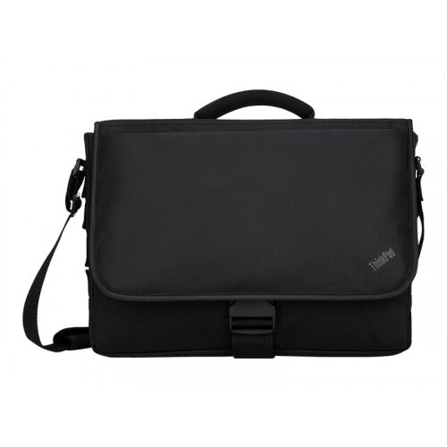 Lenovo ThinkPad Essential Messenger - Notebook carrying case - 15.6&uot; - black - for ThinkBook 14 G2 ITL; 15 G2 ITL; ThinkPad E14 Gen 2; Yoga Slim 7 Carbon 13
