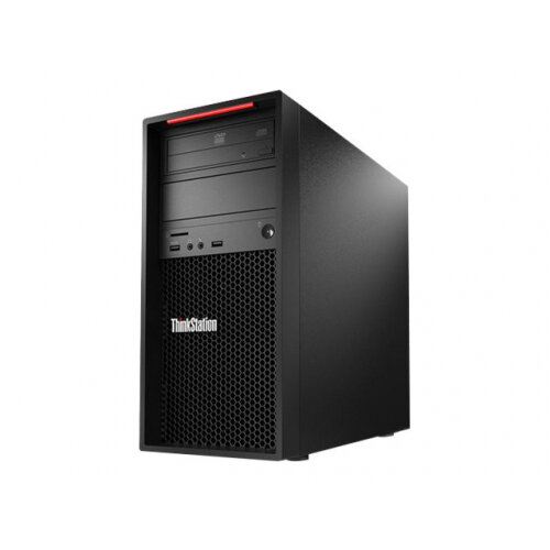 Lenovo ThinkStation P520c 30BX - Tower - 1 x Xeon W-2223 / 3.6 GHz - RAM 16 GB - SSD 512 GB - TCG Opal Encryption, NVMe - DVD-Writer - no graphics - GigE - vPro - Win 10 Pro for Workstations 64-bit - monitor: none - keyboard: UK - TopSeller