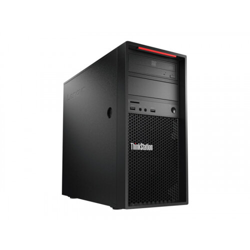 Lenovo ThinkStation P520c 30BX - Tower - 1 x Xeon W-2225 / 4.1 GHz - RAM 16 GB - SSD 512 GB - TCG Opal Encryption, NVMe - DVD-Writer - no graphics - GigE - vPro - Win 10 Pro for Workstations 64-bit - monitor: none - keyboard: UK - TopSeller