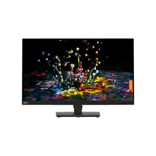 Lenovo ThinkVision P32p-20 - LED monitor - 31.5&uot; (31.5&uot; viewable) - 3840 x 2160 4K - IPS - 350 cd/m&up2; - 1000:1 - 4 ms - HDMI, DisplayPort, USB-C - raven black