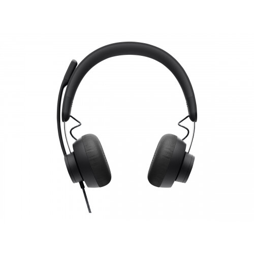 Logitech Zone Wired - Headset - on-ear - wired - active noise cancelling - USB-C - graphite