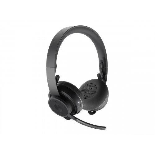 Logitech Zone Wireless MS - Headset - on-ear - Bluetooth - wireless - active noise cancelling