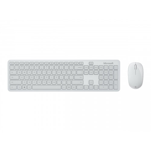 Microsoft Bluetooth Desktop - Keyboard and mouse set - wireless - Bluetooth 4.0 - UK - Glacier
