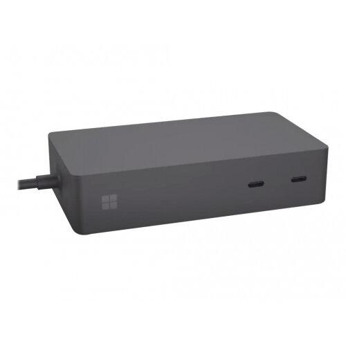 Microsoft Surface Dock 2 - Docking station - Surface Connect - 2 x USB-C - GigE - 199 Watt - commercial - United Kingdom, Ireland - for Surface Book 2, Book 3, Go, Go 2, Laptop 2, Laptop 3, Pro 6, Pro 7, Pro X, Studio 2
