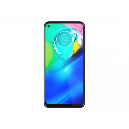 Motorola Moto G8 Power - Smartphone - dual-SIM - 4G LTE - 64 GB - microSD slot - GSM - 6.4&uot; - 2300 x 1080 pixels (399 ppi) - IPS - RAM 4 GB (16 MP front camera) - 4x rear cameras - Android - black smoke
