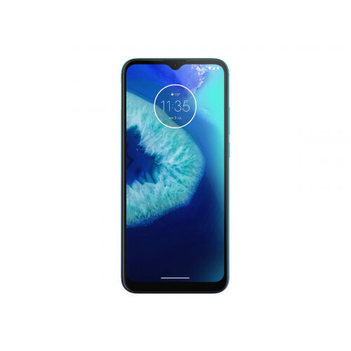 Motorola Moto G8 Power Lite - Smartphone - dual-SIM - 4G LTE - 64 GB - microSD slot - GSM - 6.5&uot; - 1600 x 720 pixels (269 ppi) - IPS - RAM 4 GB (8 MP front camera) - 3x rear cameras - Android - arctic blue
