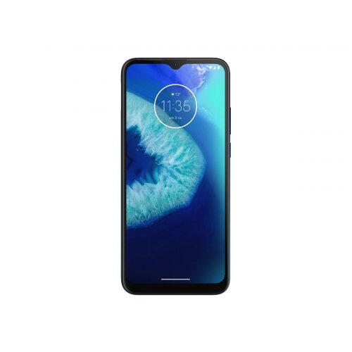 Motorola Moto G8 Power Lite - Smartphone - dual-SIM - 4G LTE - 64 GB - microSD slot - GSM - 6.5&uot; - 1600 x 720 pixels (269 ppi) - IPS - RAM 4 GB (8 MP front camera) - 3x rear cameras - Android - royal blue