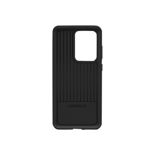 OtterBox Symmetry Series - Back cover for mobile phone - polycarbonate, synthetic rubber - black - for Samsung Galaxy S20 Ultra, S20 Ultra 5G