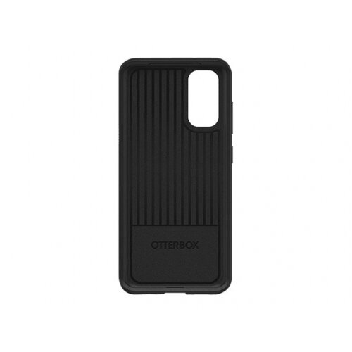 OtterBox Symmetry Series - Back cover for mobile phone - polycarbonate, synthetic rubber - black - for Samsung Galaxy S20, S20 5G