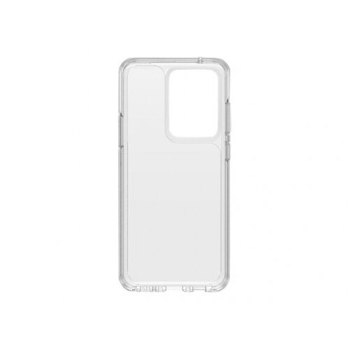 OtterBox Symmetry Series - Back cover for mobile phone - polycarbonate, synthetic rubber - clear - for Samsung Galaxy S20 Ultra, S20 Ultra 5G