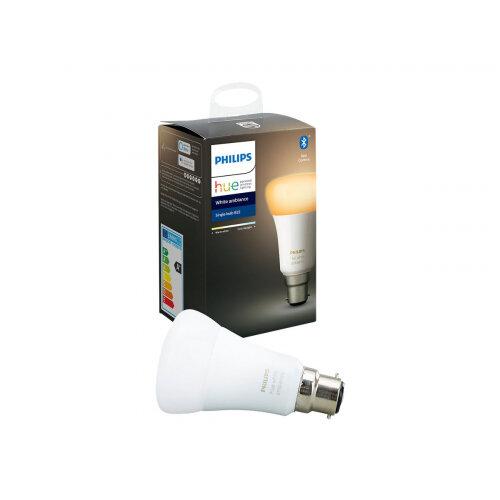 Philips Hue White ambiance - LED light bulb - B22 - class A+ - cool daylight/warm white light