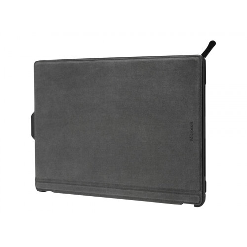 Targus - Flip cover for tablet - polyurethane, hardened polycarbonate, thermoplastic polyurethane (TPU) - black - for Microsoft Surface Pro (Mid 2017), Pro 4, Pro 6, Pro 7