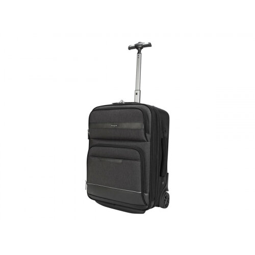 Targus CitySmart Compact Under-Seat Roller - Upright - grey, black - 12&uot; - 15.6&uot;