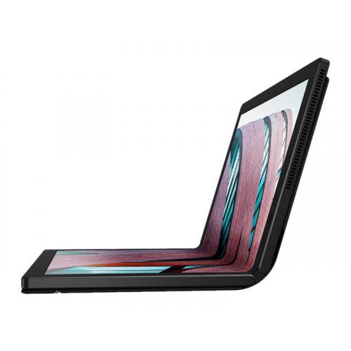 Lenovo ThinkPad X1 Fold Gen 1 20RL - Tablet - foldable - Core i5 L16G7 / 1.4 GHz - Win 10 Pro 64-bit - 8 GB RAM - 256 GB SSD NVMe - 13.3&uot; OLED touchscreen 2048 x 1536 - UHD Graphics - Wi-Fi, Bluetooth - black - kbd: UK