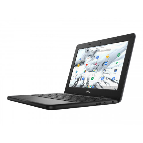 Dell Chromebook 3100 - Celeron N4020 / 1.1 GHz - Chrome OS - 4 GB RAM - 16 GB eMMC - 11.6&uot; TN 1366 x 768 (HD) - UHD Graphics 600 - Wi-Fi, Bluetooth - black - BTS - with 1 Year Dell Collect and Return Service
