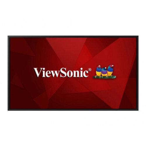 ViewSonic CDE5520 - 55&uot; Diagonal Class LED display - digital signage / hospitality - 4K UHD (2160p) 3840 x 2160 - D-LED Backlight