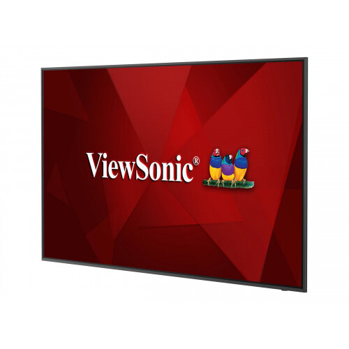 ViewSonic CDE6520 - 65&uot; Diagonal Class (65&uot; viewable) LED display - digital signage - 4K UHD (2160p) 3840 x 2160 - D-LED Backlight